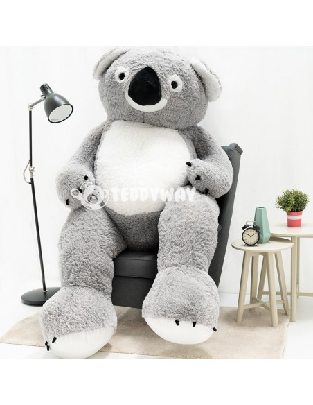 Giant Stuffed Koala Teddy Bear Toy 220 CM – 78 Inch – KoKo Giant Stuffed Koalas - Big Plush Koala Teddy Bear - Huge Soft Koal...
