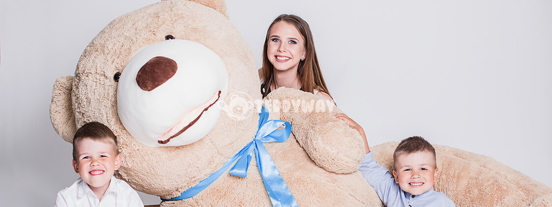 Hi, My Name Is Teddy - Big - Huge - Giant teddy bear!
