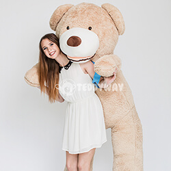 Huge Giant Teddy Bear - Huge Big Teddy Bears 200 CM - TEDDYWAY