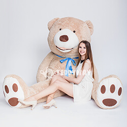 DHuge Giant Teddy Bear - Huge Big Teddy Bears 260 CM - TEDDYWAY