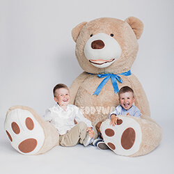 Huge Giant Teddy Bear - Huge Big Teddy Bears 260 CM - TEDDYWAY