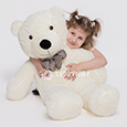 Huge Giant Teddy Bear - Huge Big Teddy Bears 340 CM - TEDDYWAY