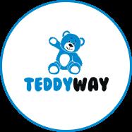 TeddyWay logo - logotipas