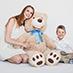 Together with teddy bear - TeddyWay