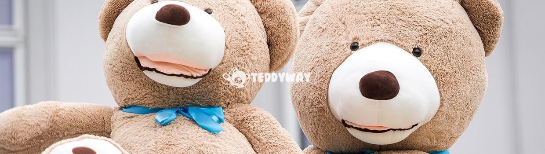 Giant Teddy Bears - Big Teddy Bears - Huge Stuffed Bears - TeddyWay