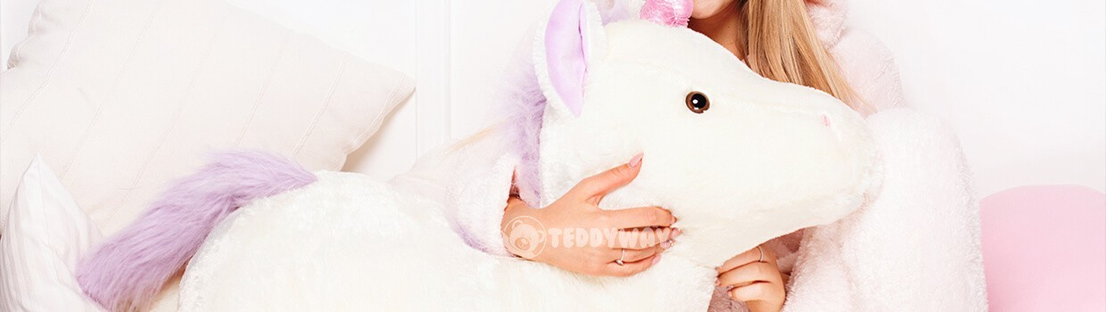 Giant Stuffed Unicorns Plush Toys - Order Online Now - TeddyWay