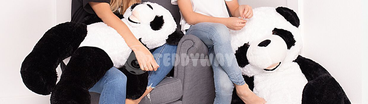 Giant Stuffed Pandas - Big Plush Panda Teddy Bear - Huge Soft Panda Toys