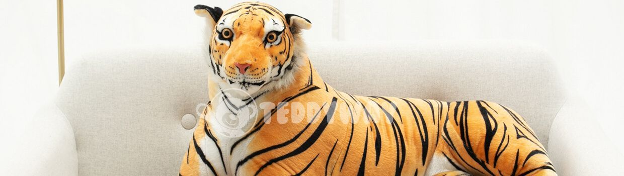 Giant Stuffed Tigers - Big Plush Tigers - Huge Soft Tigers Toys