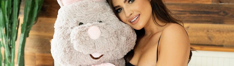 Giant Stuffed Bunnies - Big Plush Bunny - Huge Soft Rabbit Toy